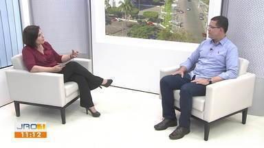 Entrevista com o gov. eleito Coronel Marcos Rocha - Entrevista com o gov. eleito Coronel Marcos Rocha .
