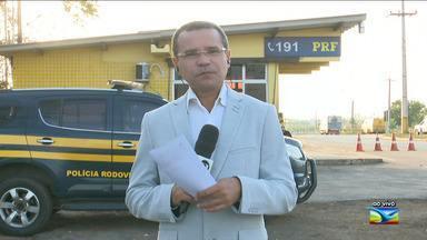 Foragido de Pedrinhas é preso no Maranhão - Camilo de Nogueira Nunes foi preso na terça-feira (30) pela Polícia Rodoviária Federal durante uma abordagem feita em uma van.