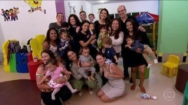 Prematuridade: a importância da rede de apoio durante a UTI - O grupo de amigas ganhou o nome Filhos de Jofre, uma homenagem ao pediatra chefe da UTI neonatal onde todos os bebês ficaram internados.