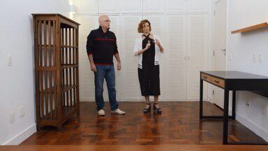 Sala + Oficina E Escritório De Marcenaria+ Cantinho De Ginástica – Léo