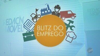 'Blitz do emprego': Empresa recruta 350 pessoas para vagas em Campinas - Oportunidades oferecidas são para áreas administrativas e de televenda.