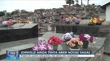 Cidades de SC buscam alternativas para liberar vagas nos cemitérios - Cidades de SC buscam alternativas para liberar vagas nos cemitérios