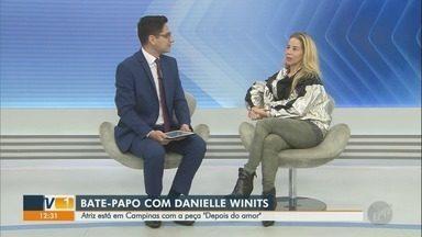 Atriz Danielle Winits apresenta espetáculo inspirado em Marilyn Monroe em Campinas - Veja entrevista completa com a artista.