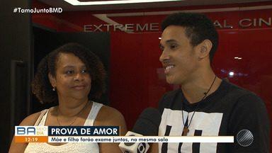 Enem: mãe e filho vão fazer prova na mesma sala nesse domingo (4) - As provas serão aplicadas nos dias 4 e 11 de novembro, em todo o Brasil.