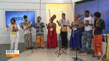 Orquestra de Berimbaus Afinados é a convidada no estúdio do BMD - Confira as novidades do grupo.