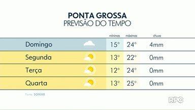 Confira a previsão do tempo para o fim de semana - Pode chover ao longo da tarde neste sábado (03).