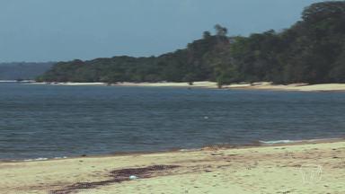 Porto Novo: praia pouco conhecida é ideal para quem quer descansar - A praia ainda pouco explorada recebeu o nome por ser o lugar frequentado pelos norte-americanos no período da exploração da borracha. A comunidade tem cerca de 60 famílias e a principal atividade é a pesca.