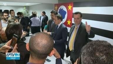 João Doria anuncia Gilberto Kassab e Rodrigo Garcia como novos secretários do Governo - Candidato eleito definiu suas escolhas nesta segunda-feira (5) para mandato que começa a partir de janeiro de 2019.