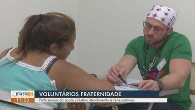 Médicos voluntários promovem atendimento fraterno a imigrantes em Boa Vista - Ação da Fraternidade Sem Fronteiras ocorre na Igreja Nossa Senhora da Consolata.