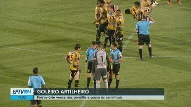 Ferroviária sofre, mas garante classificação para semifinal da Copa Paulista - Time venceu nos pênaltis o Novorizontinho na Fonte Luminosa.