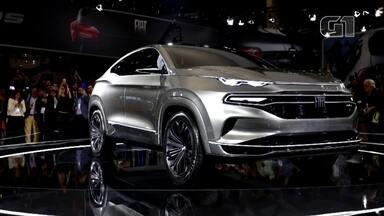 Salão do Automóvel 2018: Fiat mostra conceito fastback - O G1 está acompanhando os principais lançamentos das marcas no Salão do Automóvel 2018.