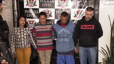 Presa quadrilha que distribuía drogas na capital e região Metropolitana - A marca registrada era uma foto do traficante Pablo Escobar.