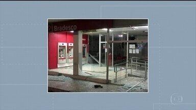 Agência do Bradesco é alvo de explosão em Águas Belas, no Agreste - Segundo a polícia, o crime aconteceu por volta das 1h e ainda não se sabe se os bandidos conseguiram levar o dinheiro dos caixas eletrônicos.