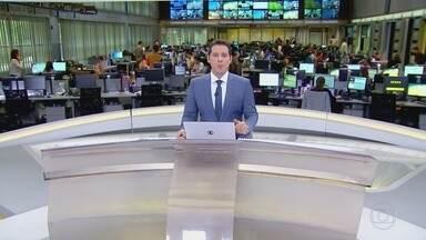 Jornal Hoje - Edição de quinta-feira, 08/11/2018 - Os destaques do dia no Brasil e no mundo, com apresentação de Sandra Annenberg e Dony De Nuccio
