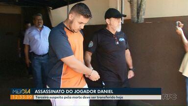 Testemunha do crime contra o jogador Daniel é transferida de Foz - Ele será levado para uma delegacia em São José dos Pinhais.
