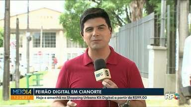 Em Cianorte Feirão Digital facilita a compra do Kit Digital - Os kits podem ser comprados a partir de R$99,00