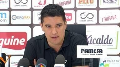 Luciano Sorriso assume vice de futebol do Santa Cruz e garante estar pronto - Ex-Volante, que se aposentou dos campos em maio, está empolgado por voltar ao Tricolor