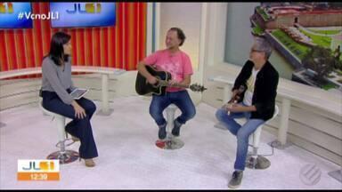 Show 'Liberdade em Movimento' reúne Zé Renato e Cláudio Lucci - Show é apresentado em Belém nesta sexta (9)