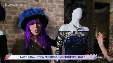 Baby do Brasil revela segredos de seu figuro 'cheguei' - Cantora relembra episódio em que foi barrada na Disney junto com toda a sua família