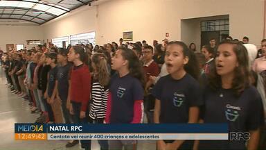 Cantata de Natal vai reunir 400 crianças e adolescentes de Ponta Grossa - A cantata de Natal organizada pela RPC vai acontecer na concha acústica da praça Barão do Rio Branco.