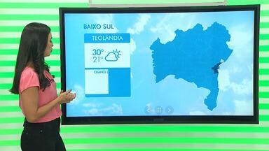 Previsão do tempo: condições climáticas devem ajudar no plantio de maracujá na Bahia - Os produtores da cidade de Teolândia no baixo sul do estado estão começando a plantar.