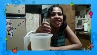 Telespectadora aprova receita do suco funcional! - Compartilhe suas experiências com as dicas do 'É de Casa'