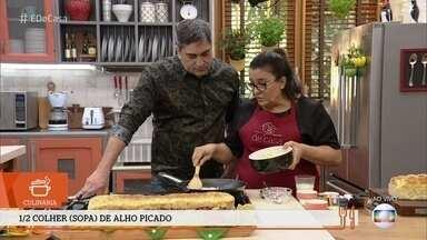 Pão a metro é a pedida para o café da manhã do 'É de Casa' - Nice Guimarães dá a receita da delícia