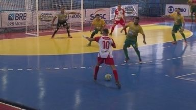 Final de semana teve mais uma etapa da Copa Brasília de Futsal - Final de semana teve mais uma etapa da Copa Brasília de Futsal.