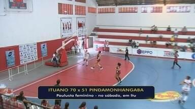 Com rival definido, Ituano vence Pinda na despedida da primeira fase do Paulista feminino - Meninas do Galo fizeram 70 a 51 nas visitantes, mas já estavam classificadas