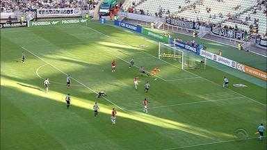 Após sair ganhando, Inter cede empate contra o Ceará - Com o resultado, Inter manteve os cinco pontos de distância pro Palmeiras e a segunda colocação no campeonato.