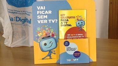 Faltam 16 dias para o desligamento do sinal digital de televisão na região - Desligamento acontece no dia 28 de novembro em 11 cidades da região sul. Márcia Cavalcante, da Seja Digital, reforça o alerta para comunidade.