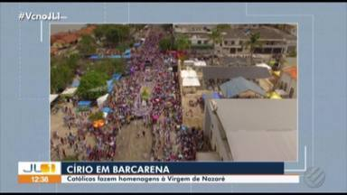 Círios em Barcarena e Marituba fazem homenagem a N. Senhora de Nazaré - Festividades foram realizadas no fim de semana.