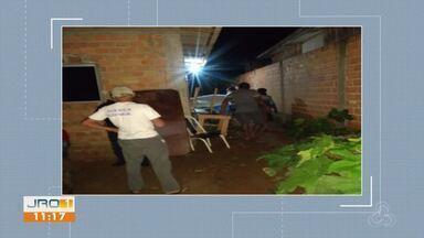 Duplo homicídio acontece em Jaru - Vítimas já foram identificadas.