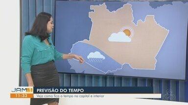 Confira previsão do tempo para o estado do Amazonas para esta segunda (12) - Confira previsão do tempo para o estado do Amazonas para esta segunda (12)