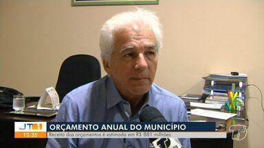 Projeto da Lei Orçamentária Anual 2019 é analisado na Câmara de Vereadores de Santarém - A receita dos orçamentos fiscal e seguridade social é estimada em R$ 881 milhões.
