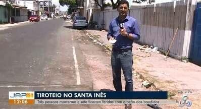 Ataque na orla de Macapá tinha intenção de matar duas pessoas, diz polícia - Crime aconteceu no domingo (11) e deixou três mortos e cinco feridos.