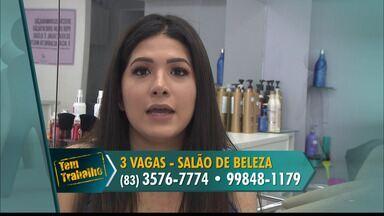 Salão de beleza oferece vagas para trabalho em João Pessoa - São três vagas para manicure e cabeleireiro.