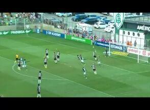 Em casa, Atlético fica só no empate diante do líder Palmeiras - Equipe saiu na frente, mas levou empate.