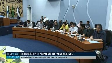 Câmara cria comissão para discutir redução no número de vereadores em Ponta Grossa - Atualmente a Casa tem 23 vereadores.