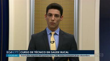 Curso de técnico em saúde bucal está com inscrições abertas - Os interessados precisam procurara a Secretaria de Saúde Guarapuava.