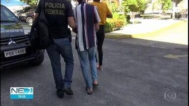 Dois modelos tentam viajar para Portugal com cocaína e são presos no Aeroporto do Recife - Eles forma aliciados por uma quadrilha com a promessa de conseguirem trabalho na Europa.