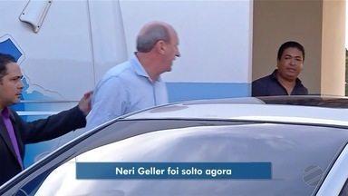 Neri Geller é solto depois de três dias preso - Neri Geller é solto depois de três dias preso.