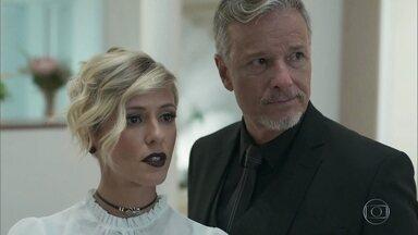 Sampaio e Louise estranham a ansiedade de Valentina com o casamento de Gabriel - Valentina admite nervosismo