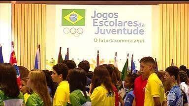 Grande evento marca abertura dos Jogos Escolares da Juventude - Grande evento marca abertura dos Jogos Escolares da Juventude