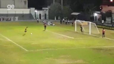 Ziel em cobrança de pênalti na final do Sub 19 de 2017 - Ziel em cobrança de pênalti na final do Sub 19 de 2017