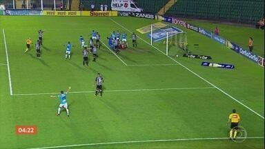 Ponte Preta vence o Coritiba por 2 a 0 pela série B do Brasileirão - O Paysandu venceu o Figueirense por 3 a 2. Confira os gols.