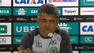 Técnico Ney Franco destaca importância do jogo contra o Oeste - Treinador do Goiás afirma que grupo está fechado para conquistar o acesso à Série A.