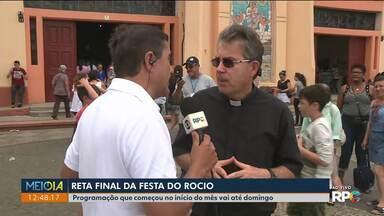 Tradicional Festa do Rocio leva milhares de pessoas para Paranaguá - Neta quinta-feira acontece a tradicional procissão pela cidade.