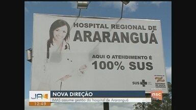 Novo grupo assume gestão do hospital de Araranguá - Novo grupo assume gestão do hospital de Araranguá