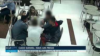 Polícia prende mais um suspeito de envolvimento no crime do jogador Daniel - O jovem de 18 anos, também estaria na casa da Família Brittes durante festa.